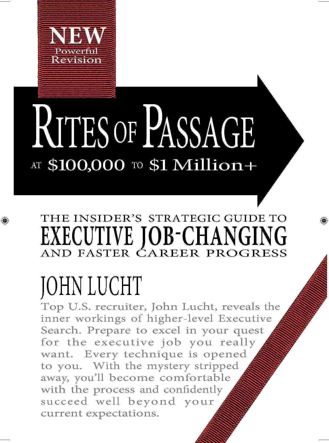 Rites of Passage at 100,000 to 1,000,000+ By Lucht, John